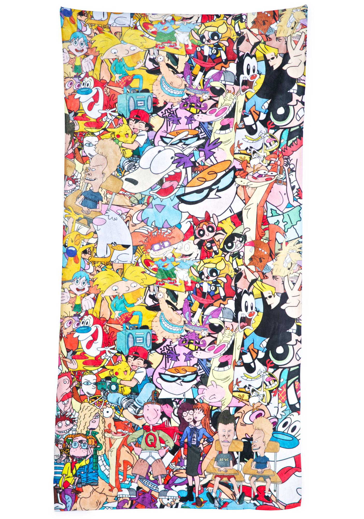 Totally '90s Beach Towel