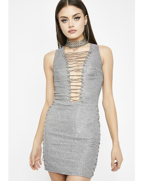 Leveled Up Sparkle Dress
