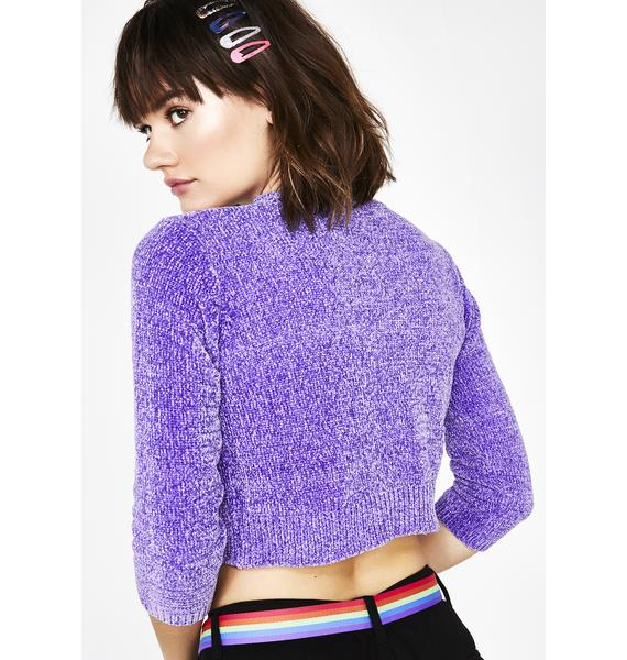 dELiA*s by Dolls Kill Fairy Sweet Intuition Crop Cardigan
