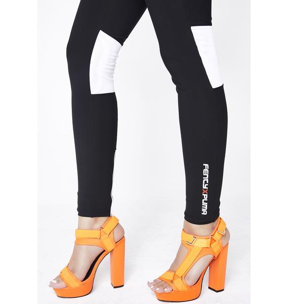 PUMA FENTY PUMA By Rihanna Zip Moto Legging