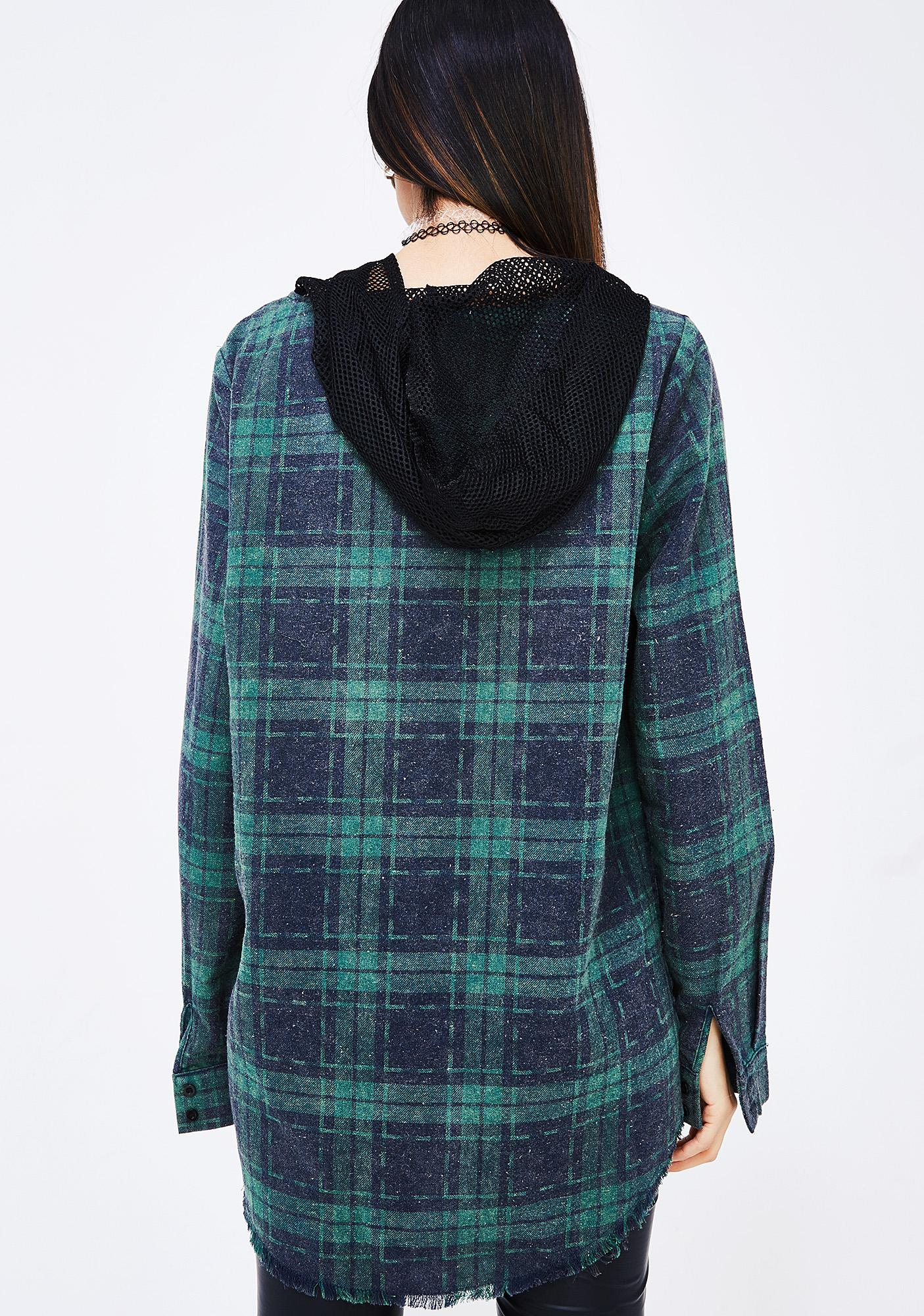 New Block Flannel Shirt