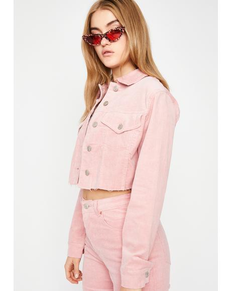 Bubblegum Fallin' Hard Corduroy Jacket