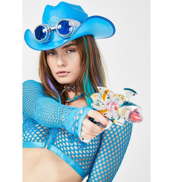 Neon Cowboys Midnight Blue Light Up Cowboy Hat