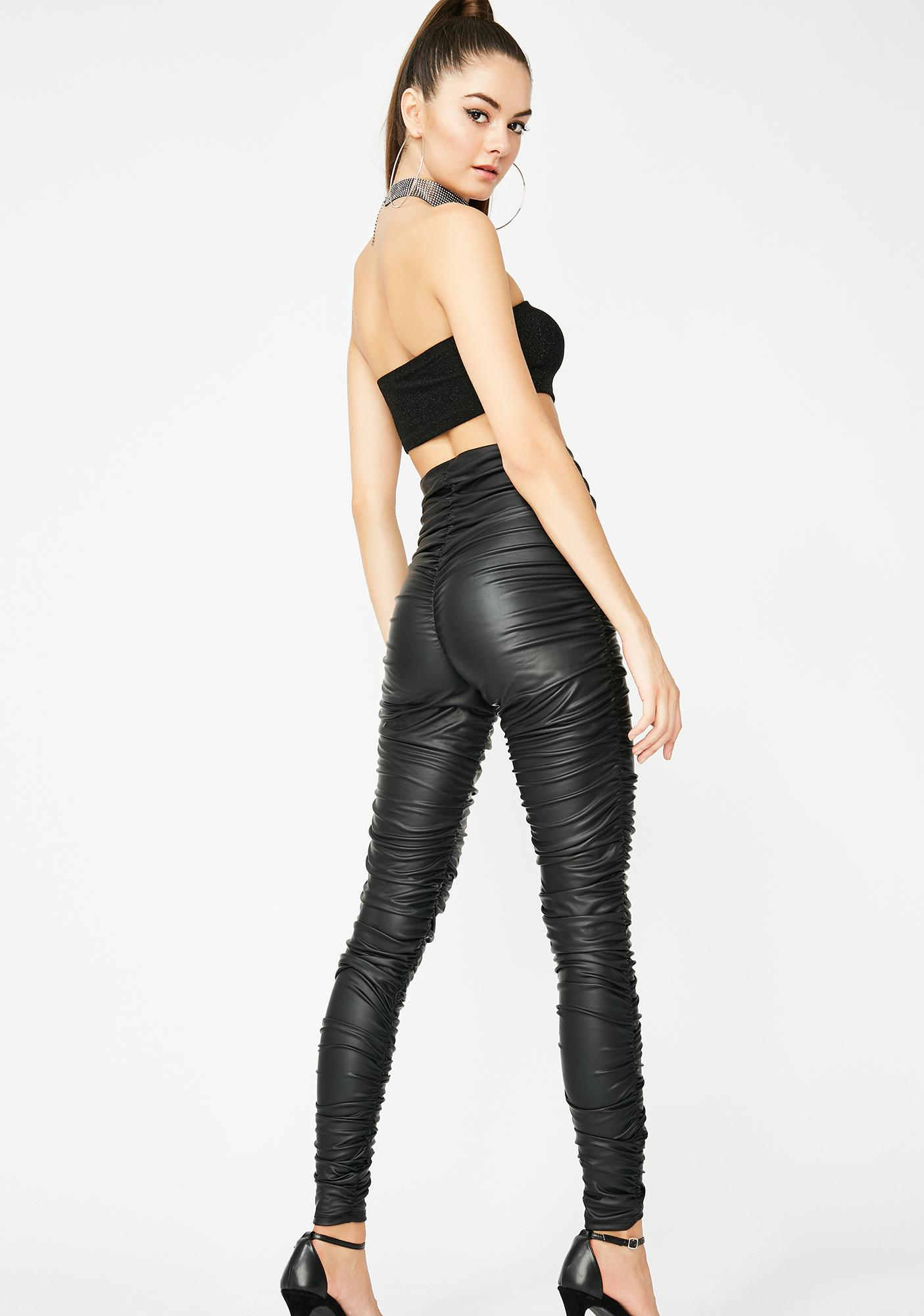 All The Vices Ruched Leggings