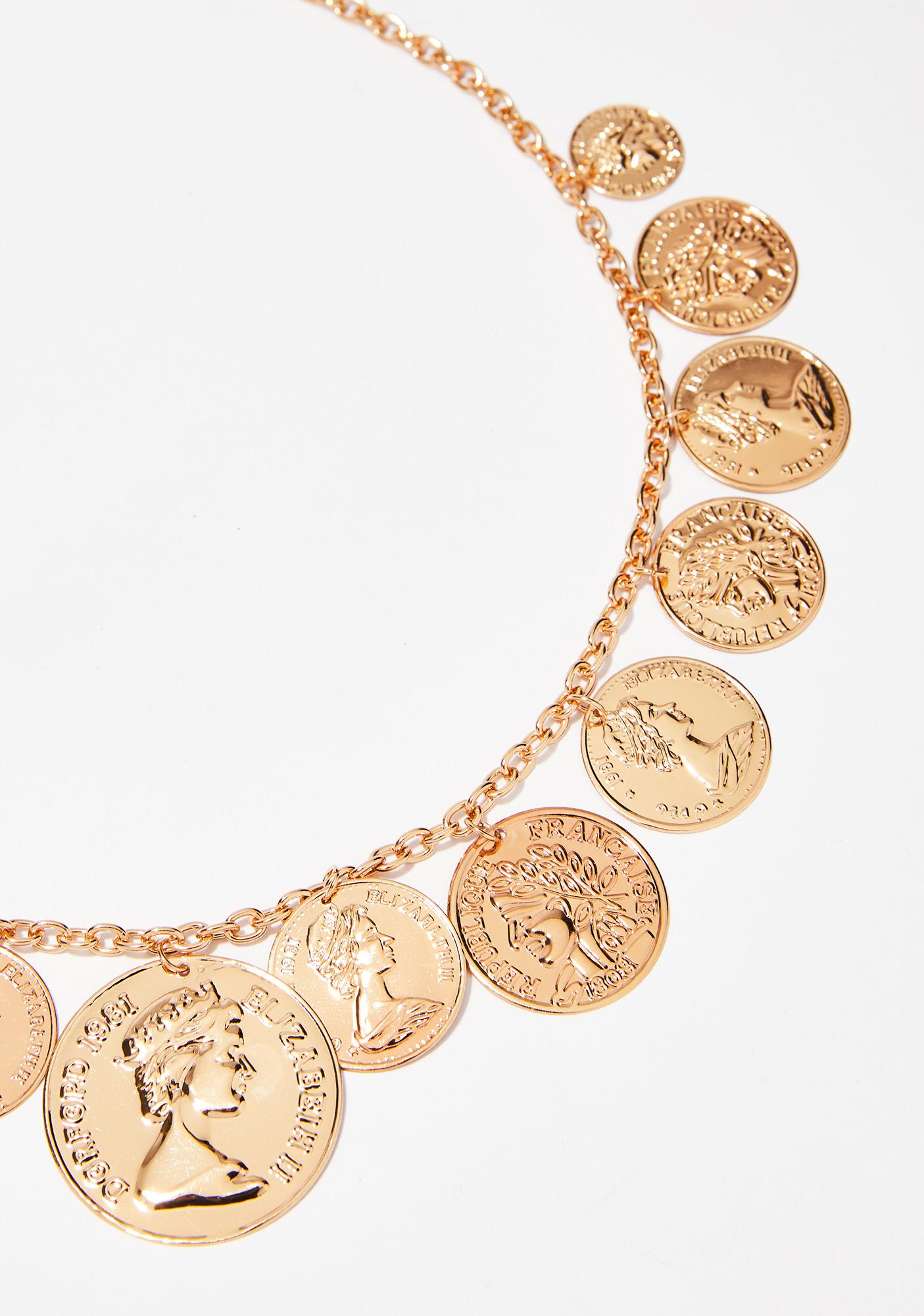 Bad Penny Coin Necklace