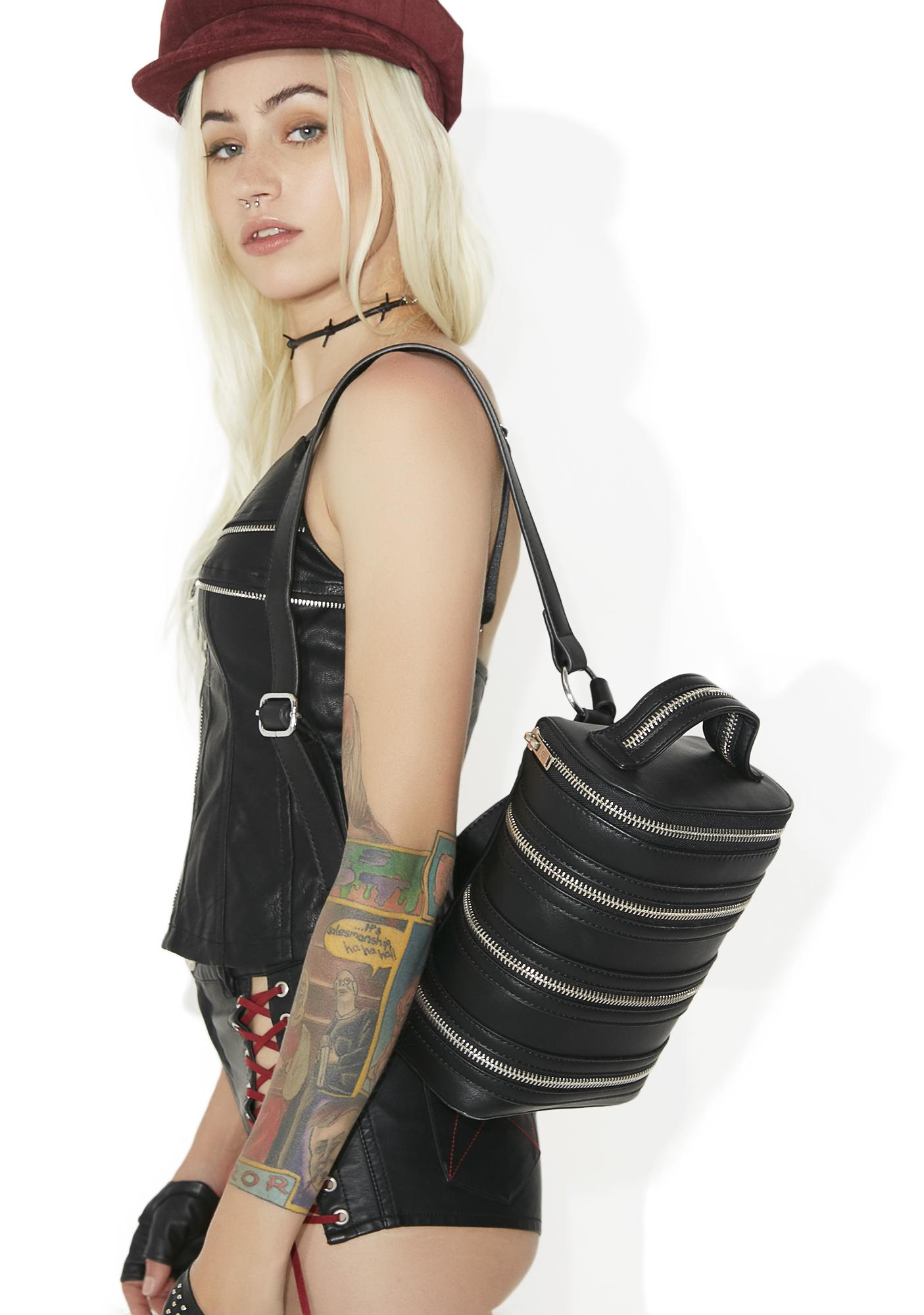 Current Mood Zip Down Backpack