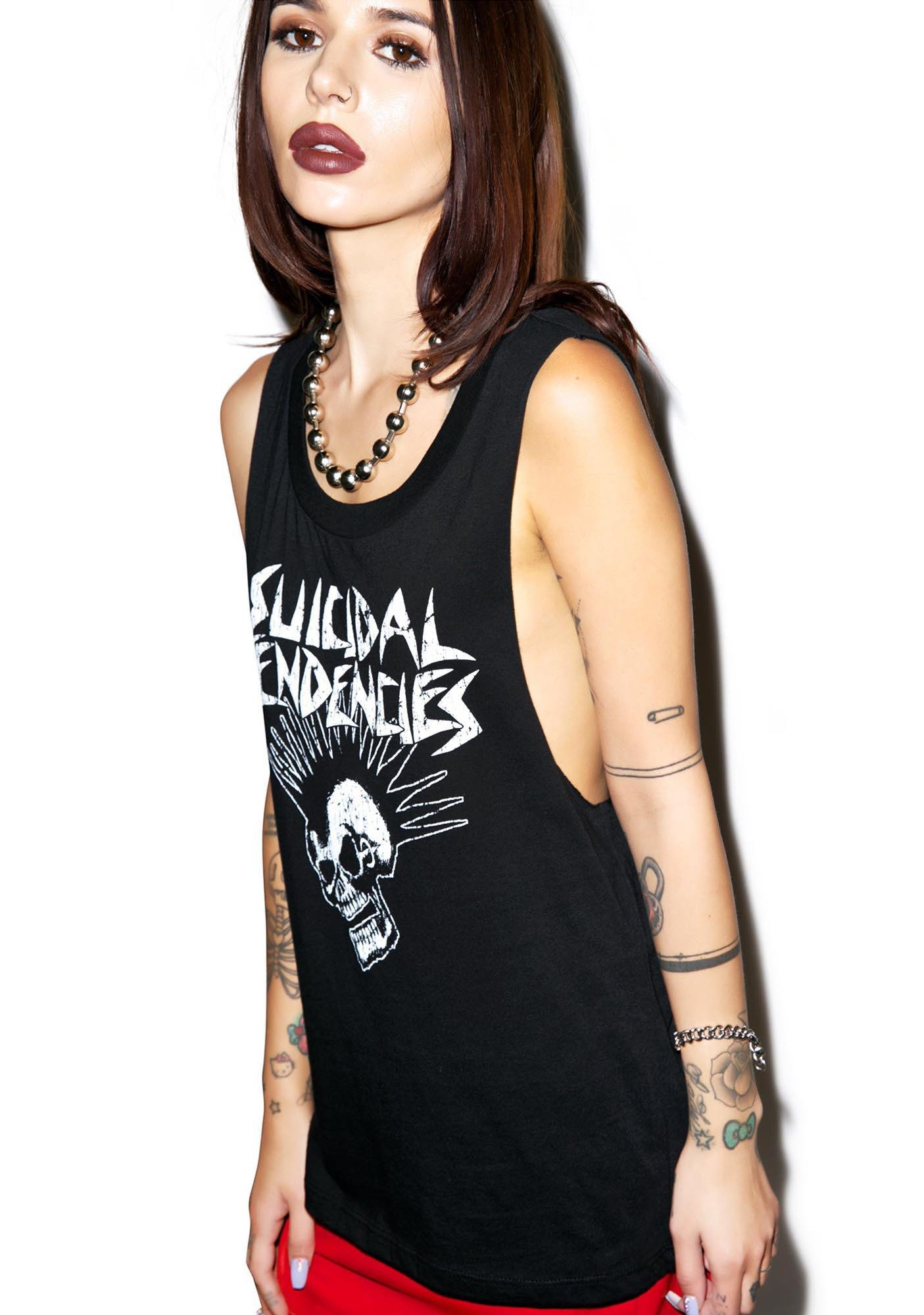Suicidal Tendencies Mohawk Tank Top
