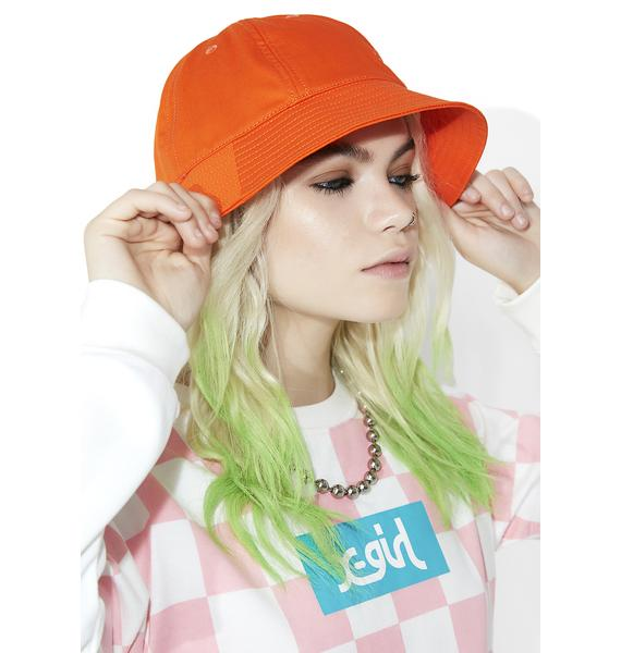 x-Girl Logo Bucket Hat
