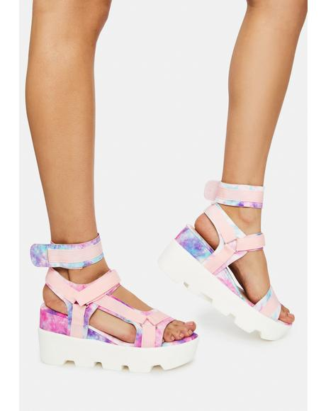 Outer Space Vibes Sandals
