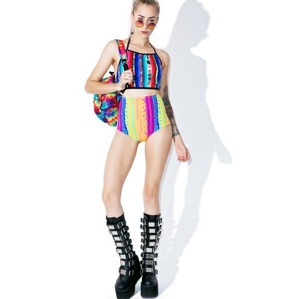Mi Gente Clothing Costa Maya Hot Shorts