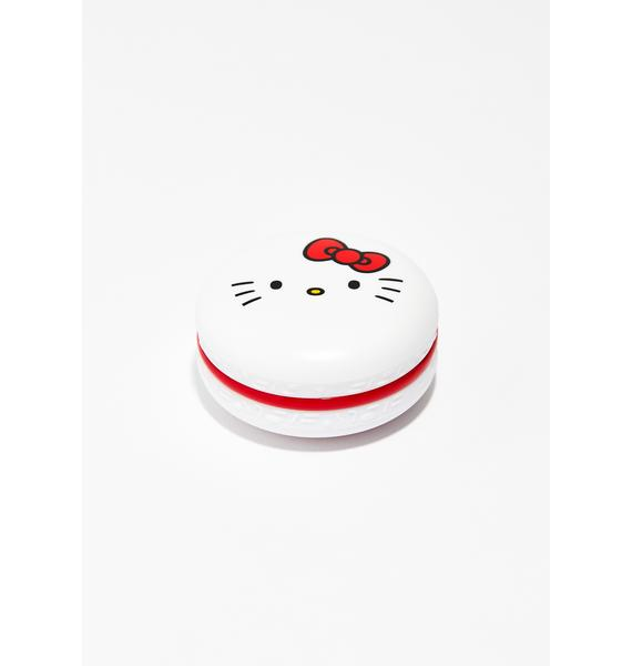 The Crème Shop Hello Kitty Berry Macaron Lip Balm