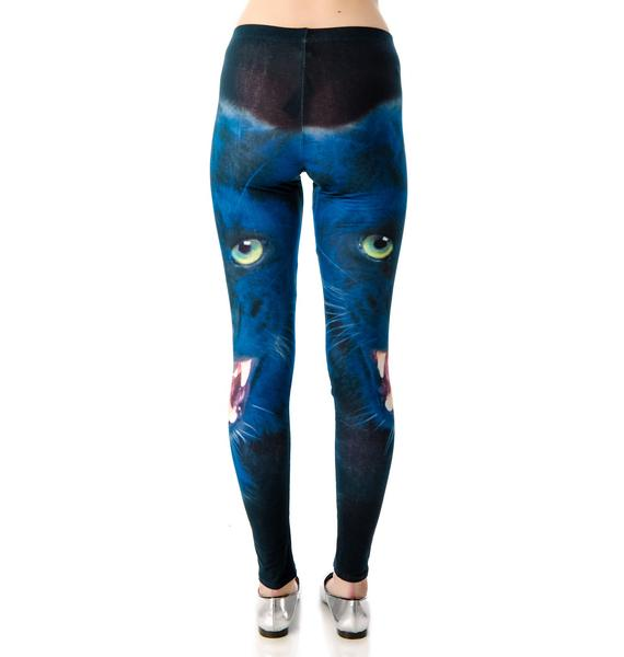Eye Of The Panther Leggings
