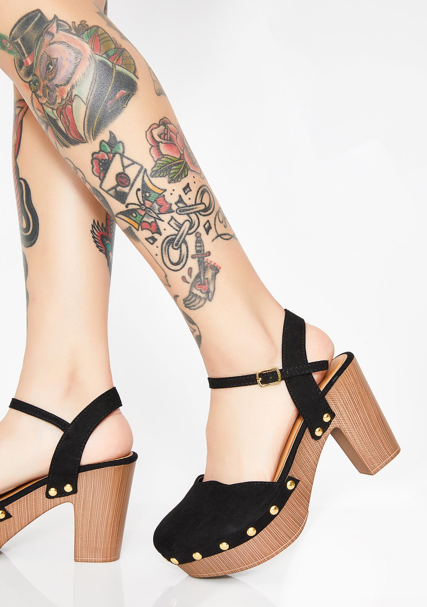 Dank Dreamin' Platform Heels