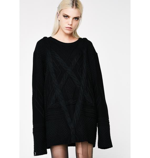 Killstar Magnus Knit Sweater