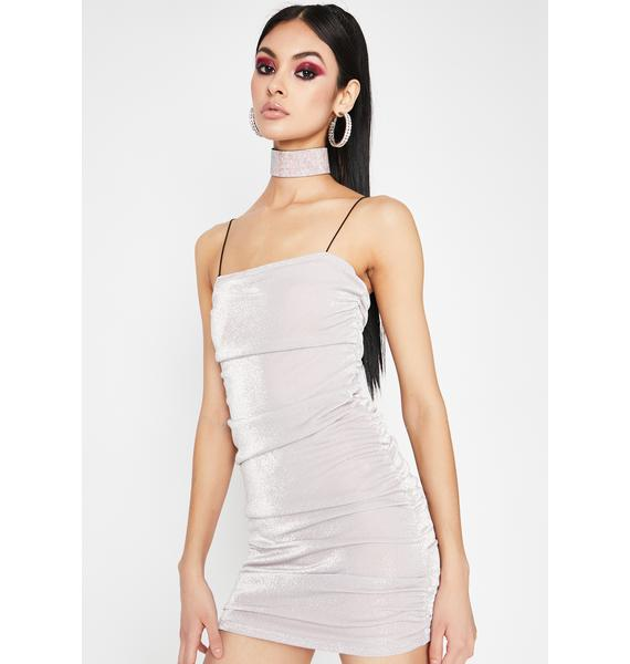 Miss Limelight Ruched Dress