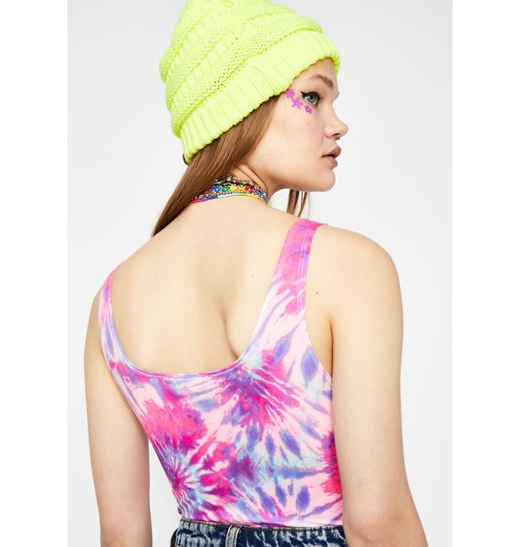 Ashbury Candy Tie Dye Bodysuit