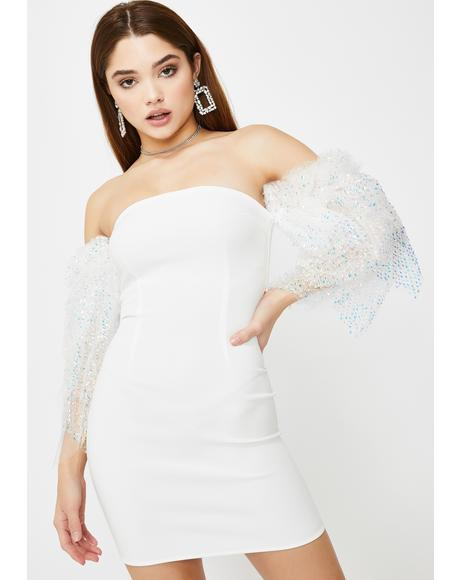 Evanna Tulle Mini Dress