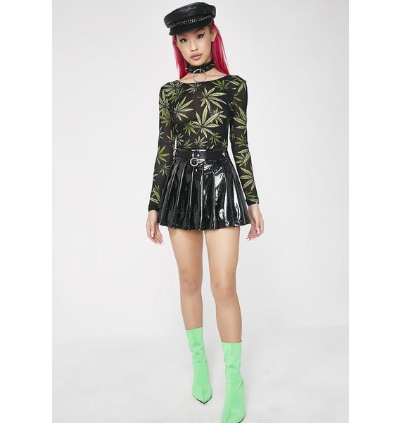 Higher Than Eva Leaf Bodysuit
