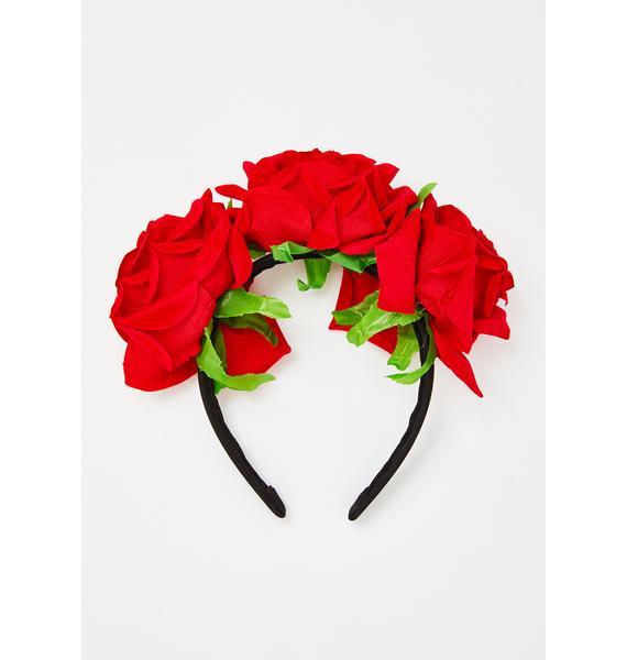 La Catrina Flower Headband