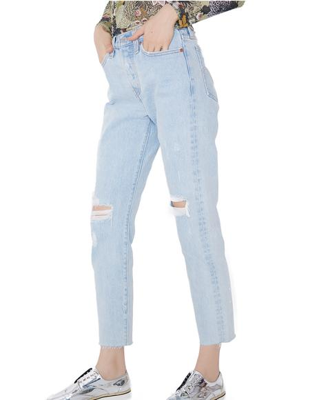 Kiss Off Wedgie Fit Jeans