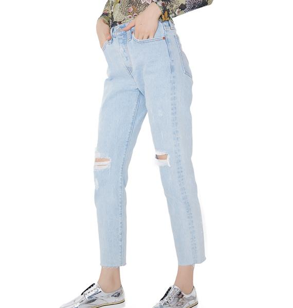 Levis Kiss Off Wedgie Fit Jeans