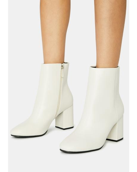 Halo Pretty Bish Ankle Boots