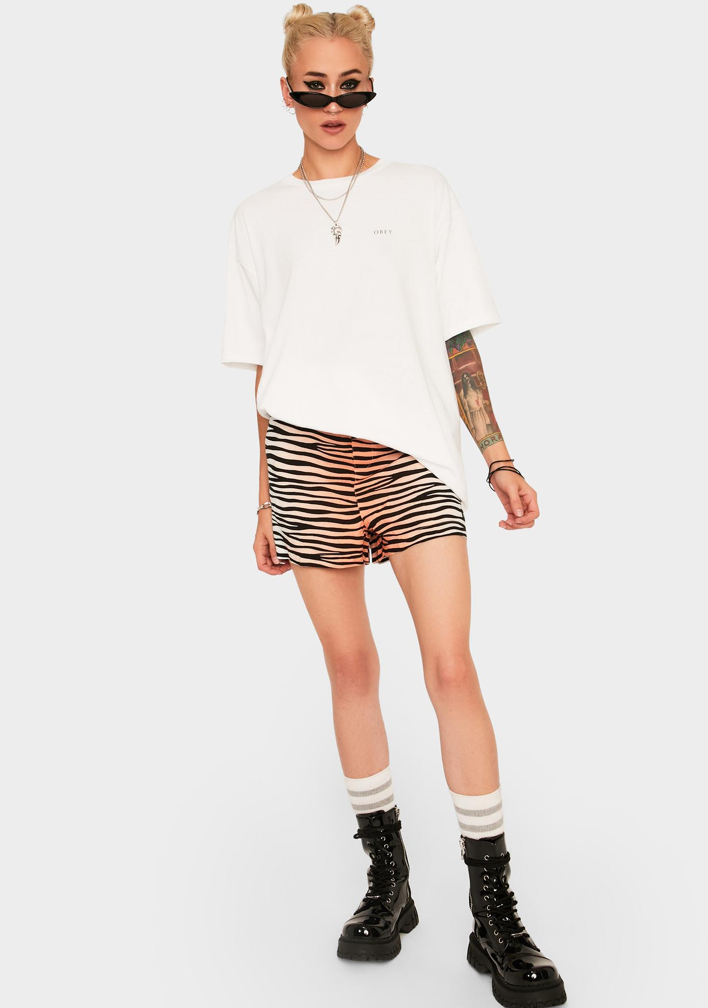 Obey Obey Noir Women Icon Graphic Tee