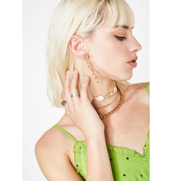 Boardwalk Babe Shell Earrings