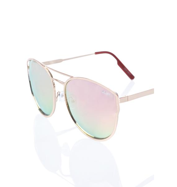Quay Eyeware Cherry Bomb Sunglasses