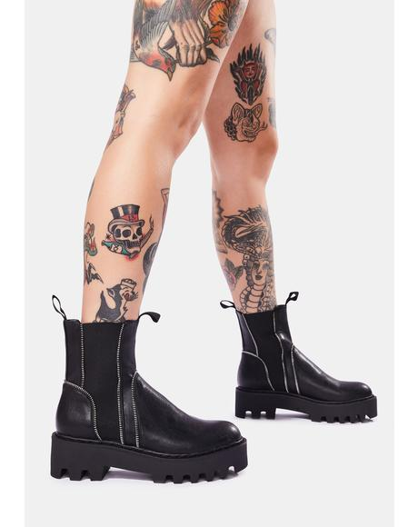 You Thought Wrong Ankle Boots