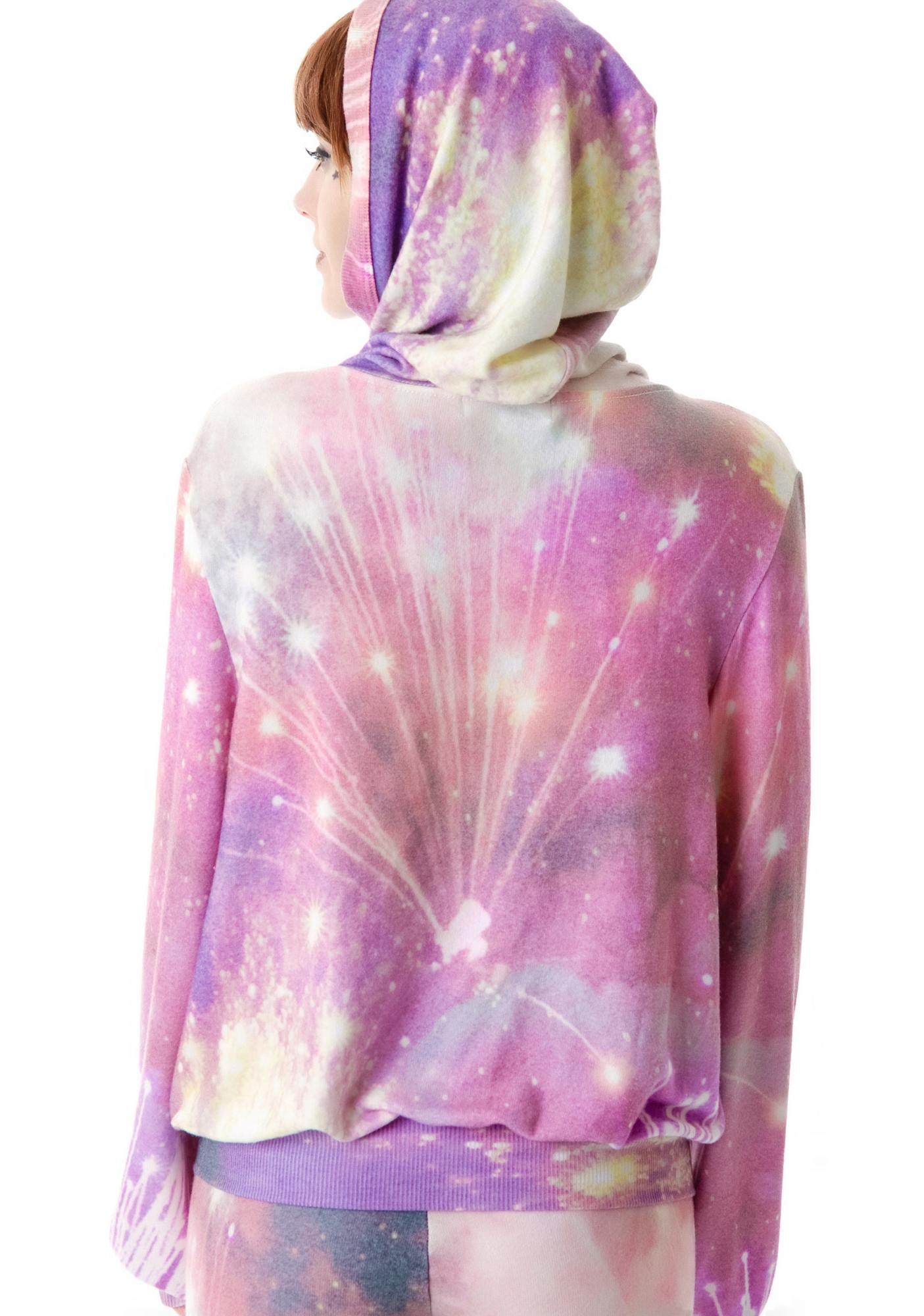 Wildfox Couture Firework Malibu Zip Up