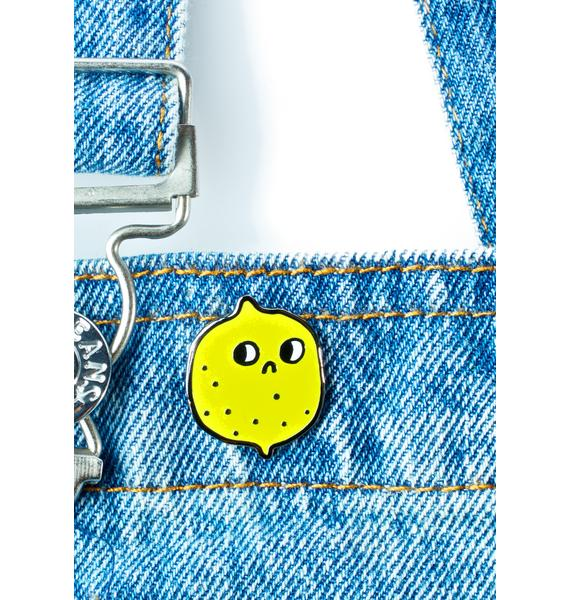Valley Cruise Press Suspicious Lemon Pin