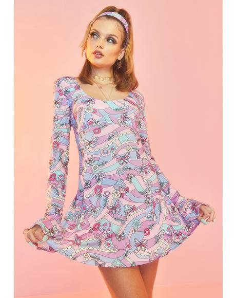 Blooming With Love Mini Dress
