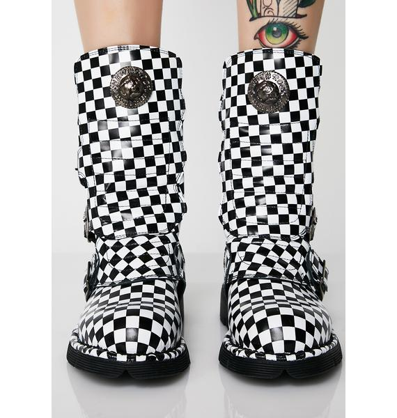 New Rock Chess Boots