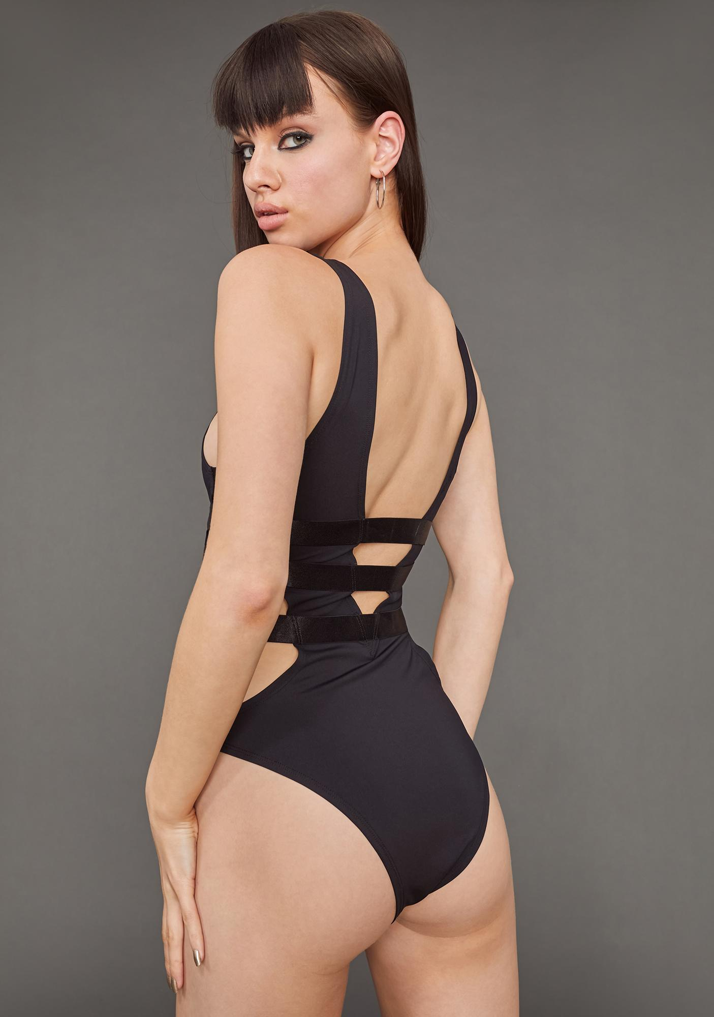 Poster Grl Triple X-Rated Bandage Bodysuit