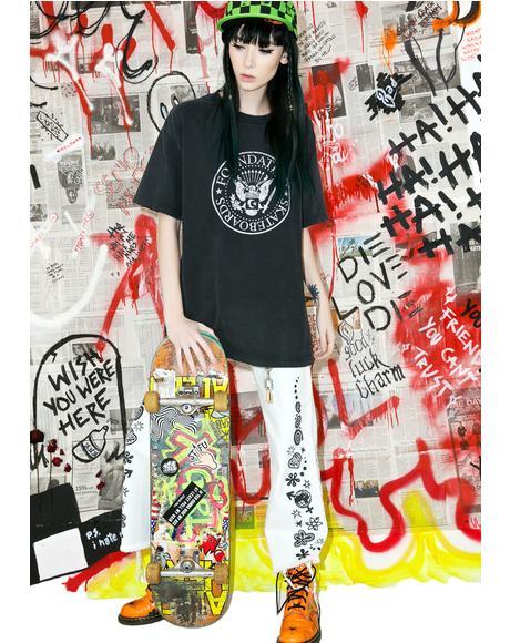 Vintage Foundation Skateboards Tee
