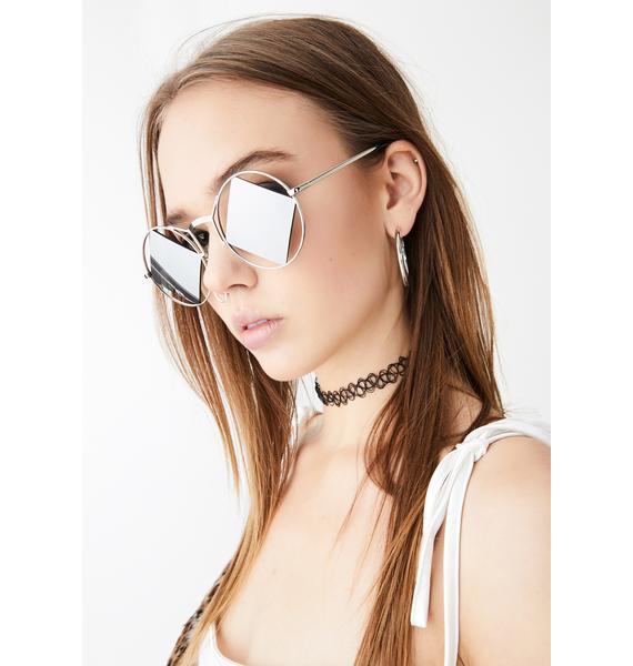 Iconic Relics Circle Sunglasses