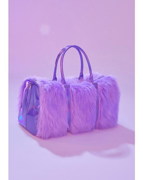 Lilac Shagadelic Weekender