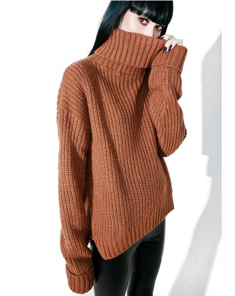 Macchiato Turtleneck Sweater