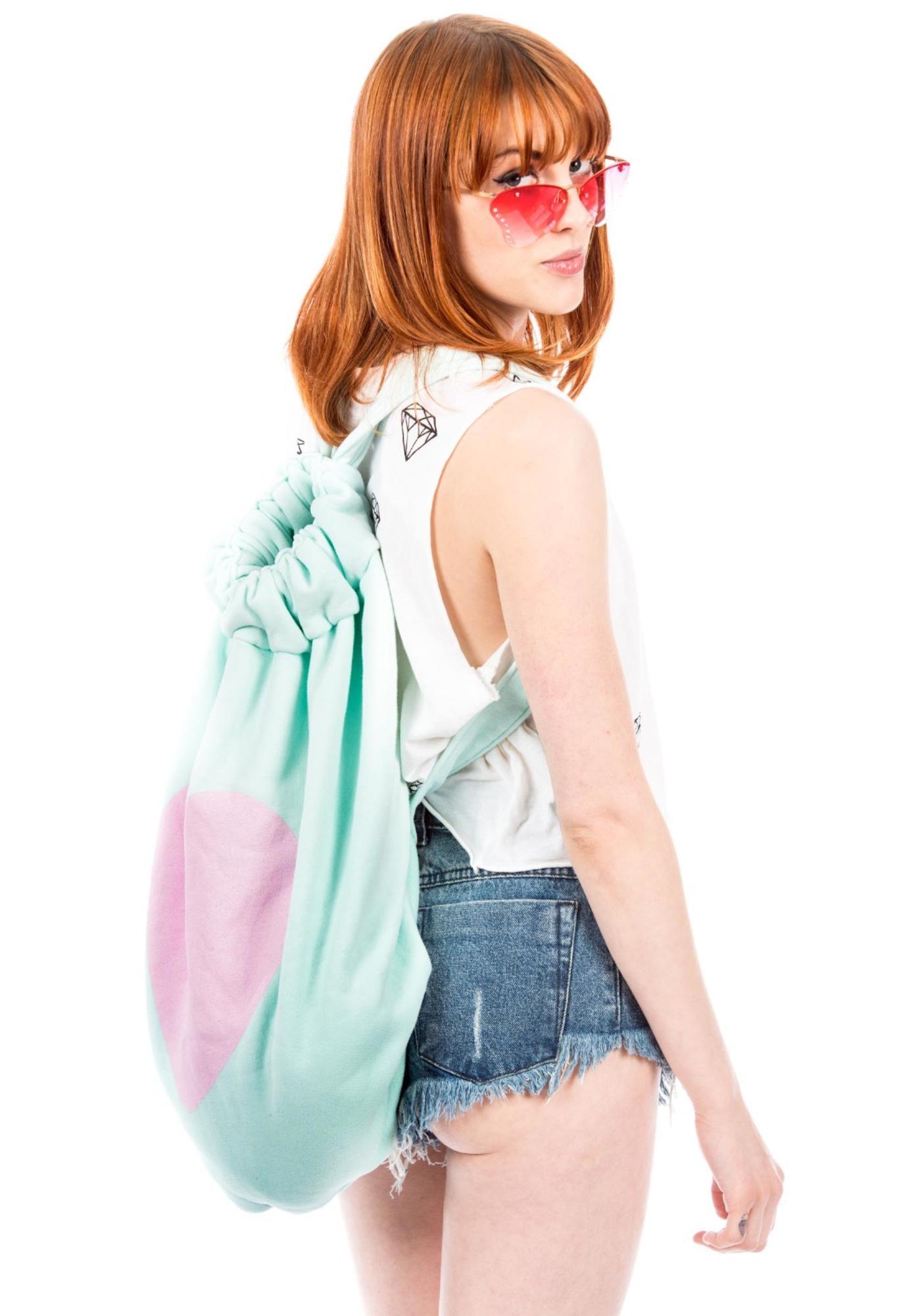 Wildfox Couture Roadtrip Big Heart Bag