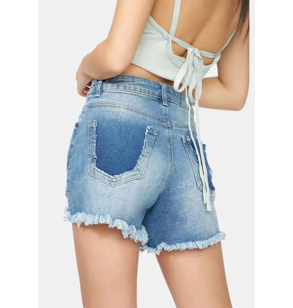 Put On A Show Denim Shorts