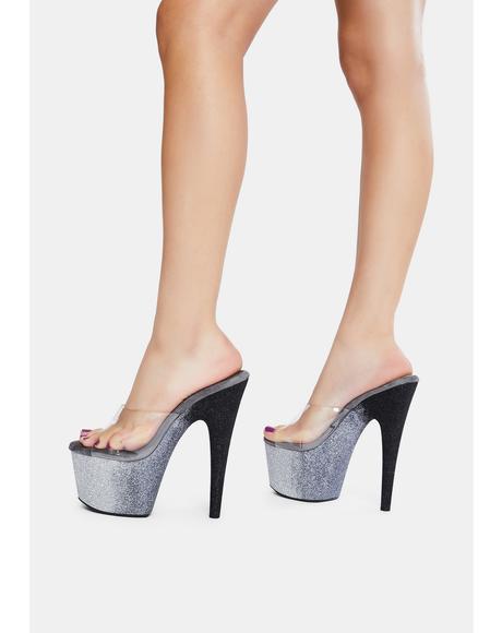 Ombre Here's A Tip Platform Heels