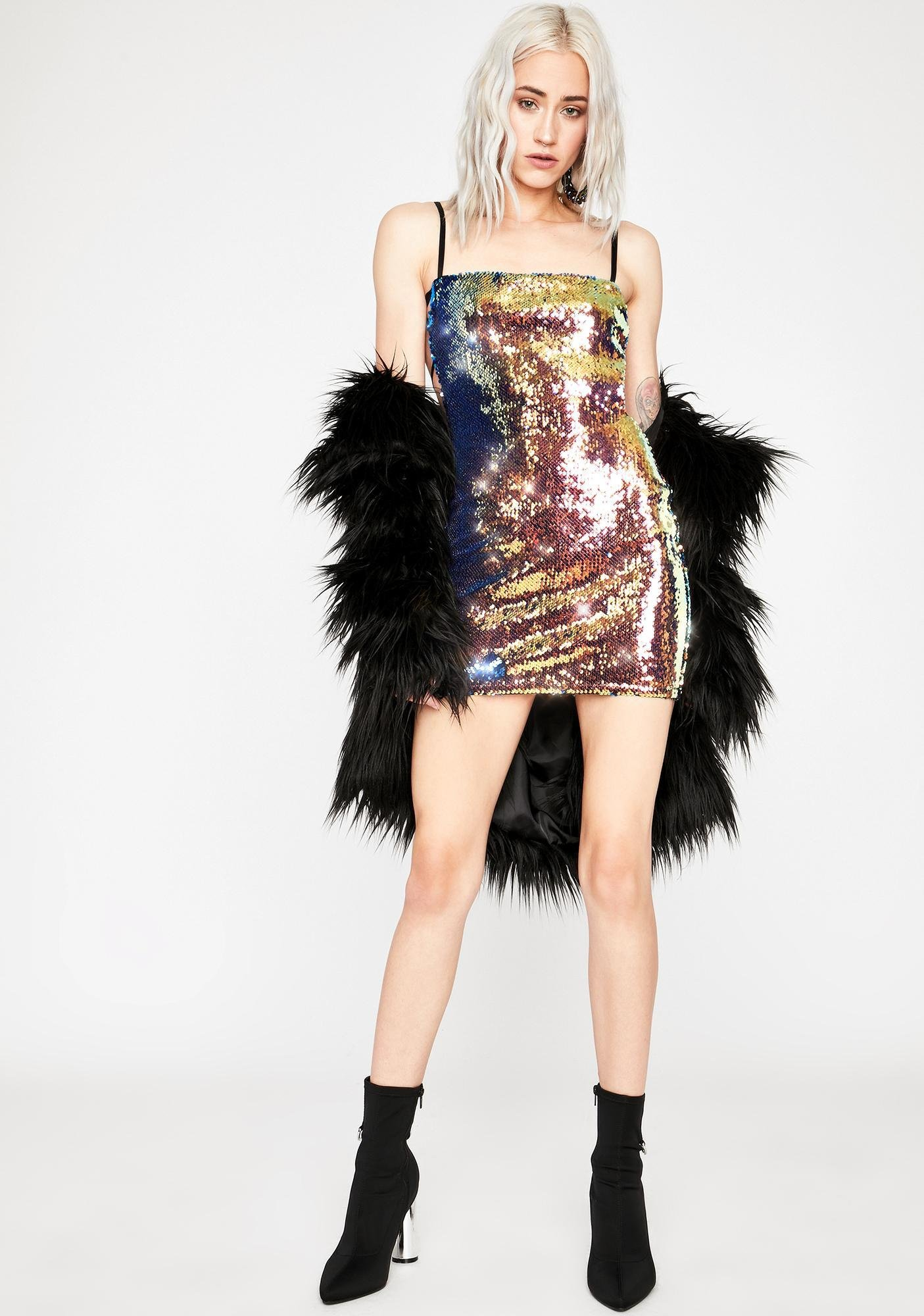Girlz Nite Out Sequin Dress