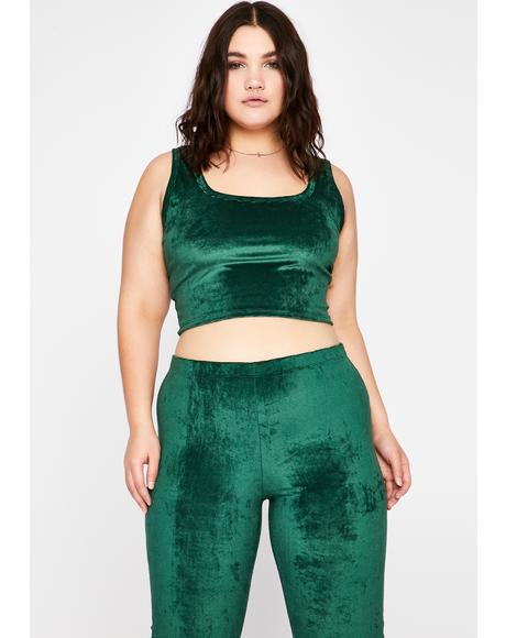 Emerald Lux Lonely Lover Pant Set