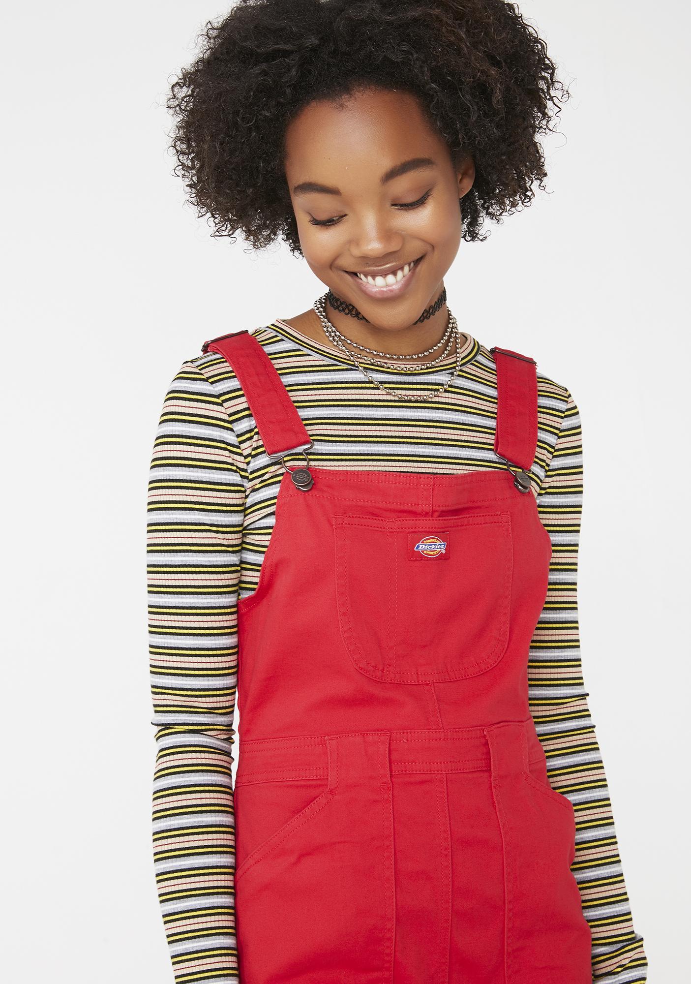 Dickies Girl Lit Overall Dress