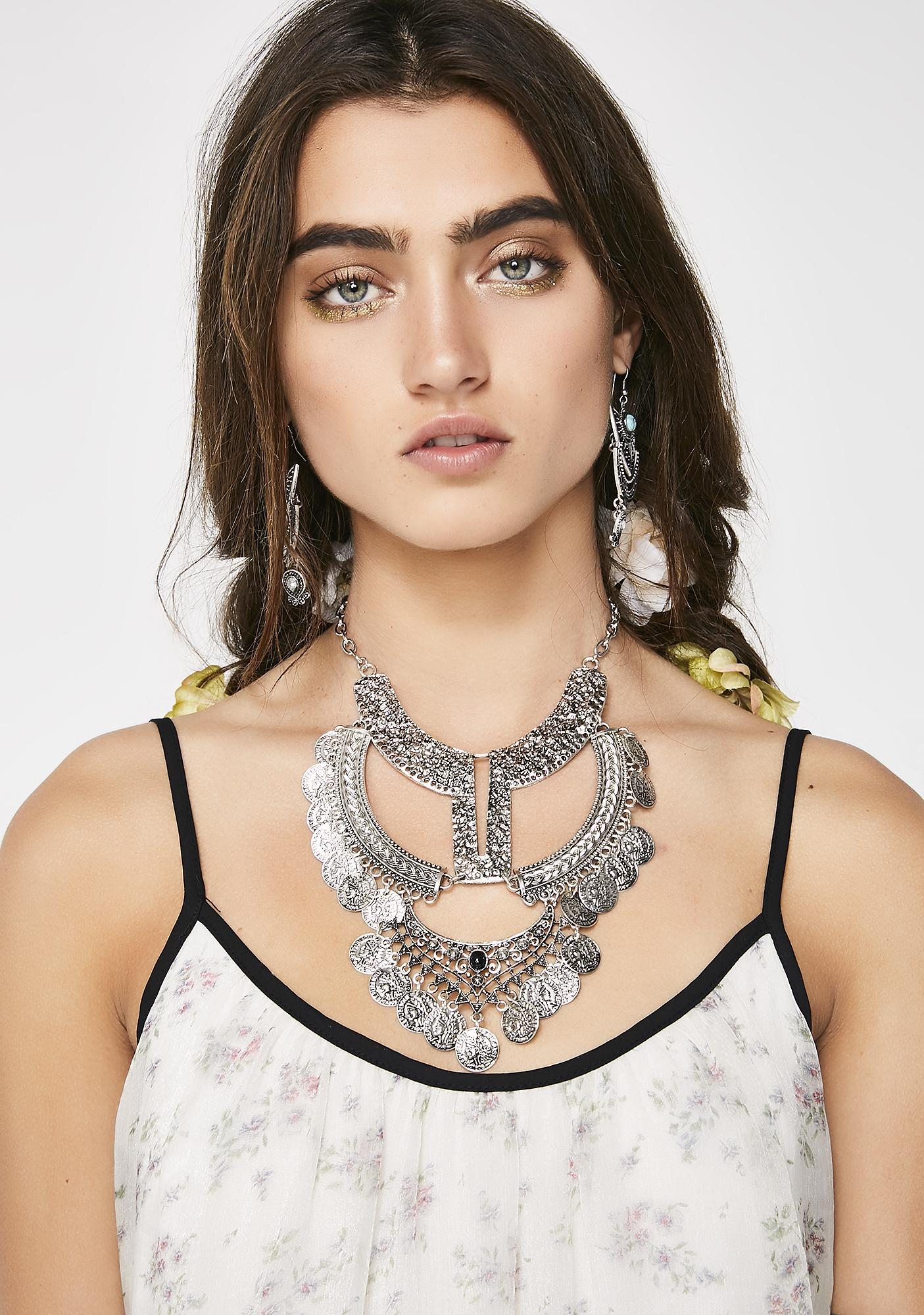 Take Ya On A Tripp Statement Necklace