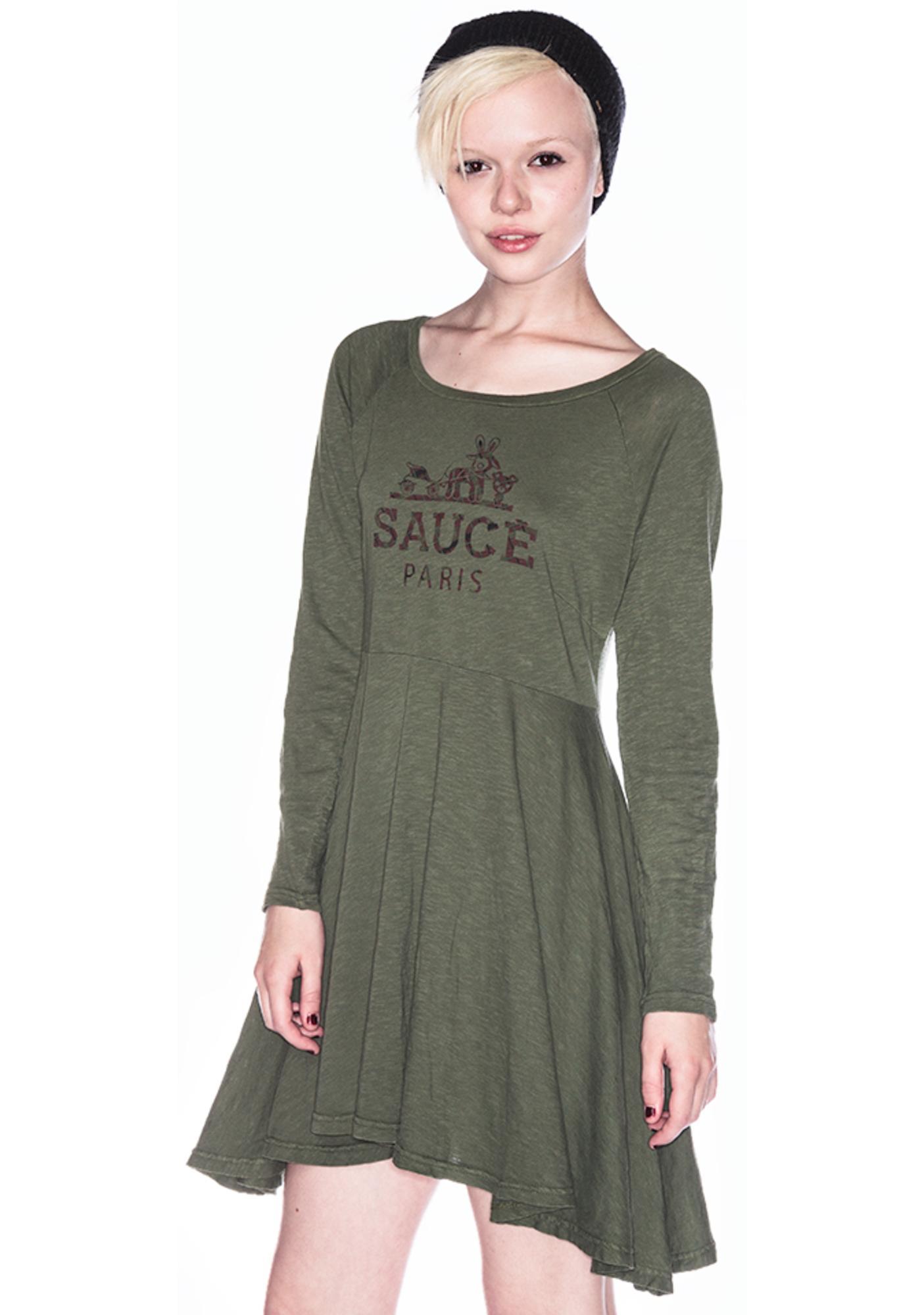 Sauce Window Dress