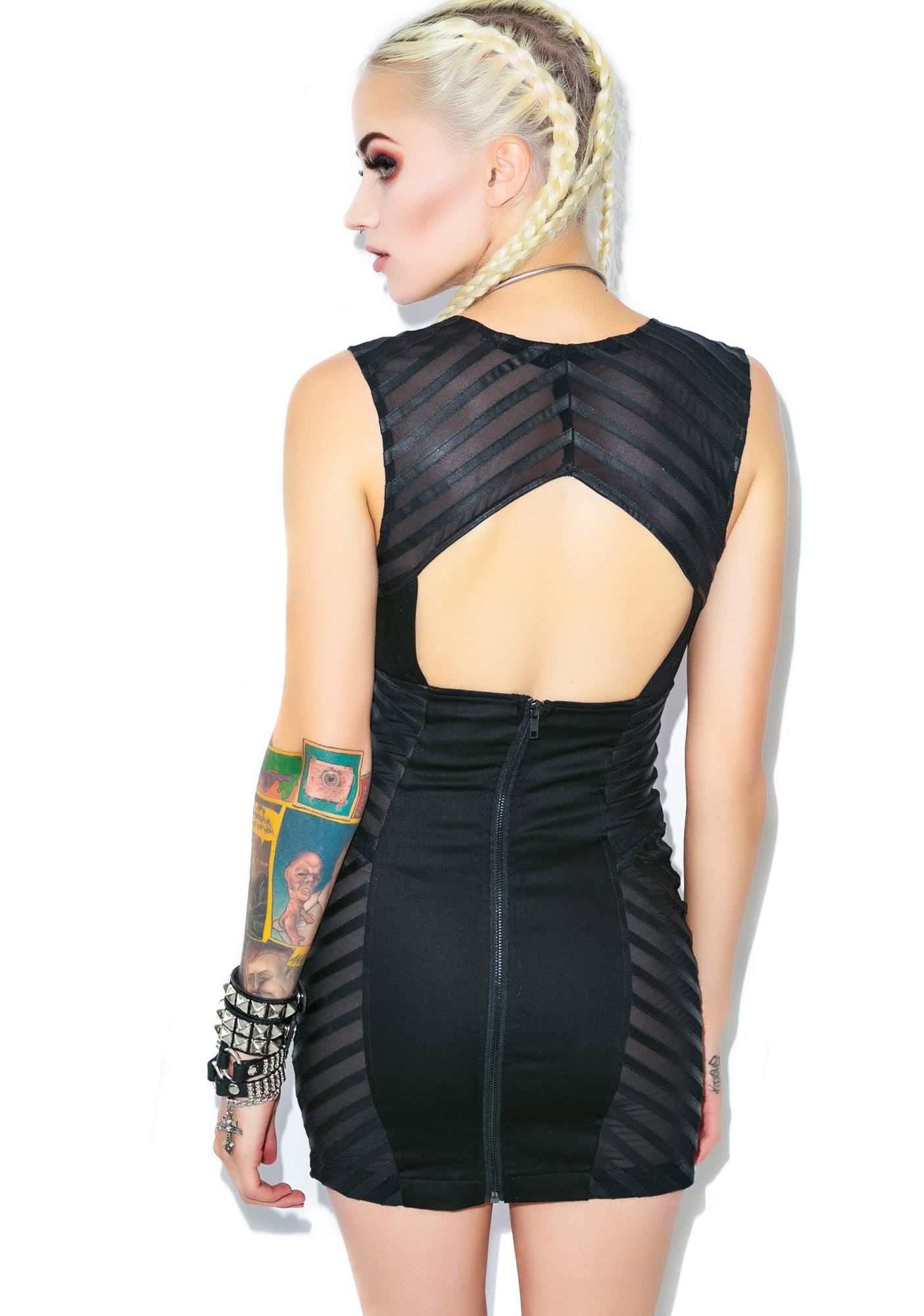 Lip Service Secret Society Mini Dress