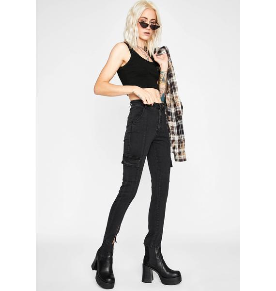 Lickety Split Cargo Jeans