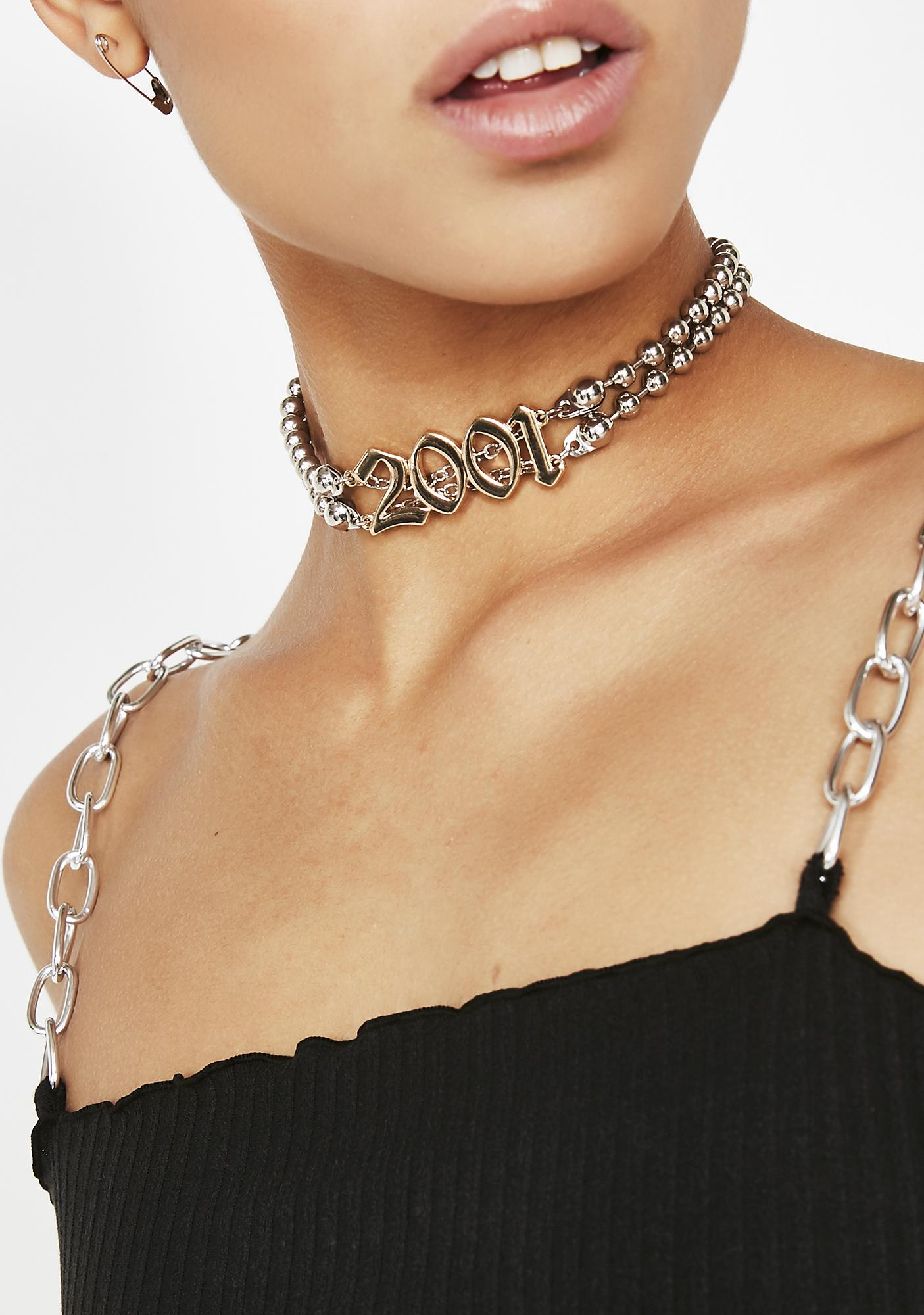 Space Odyssey Chain Choker
